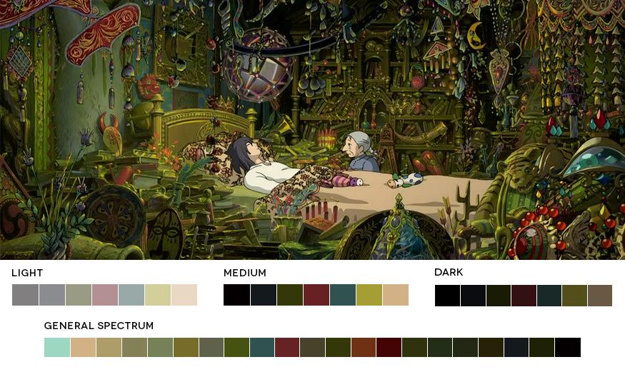 </p> <p>Hayao Miyazaki WeekHowl's Moving Castle, 2004Cinematography:Atsushi Okui</p> <p>