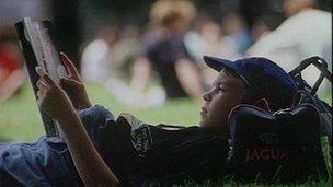 Image: Child Reading