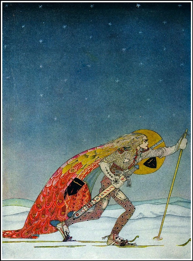 Kay Nielsen, East of the Sun and West of the Moon, 1914.