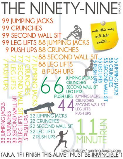 99 workout