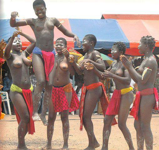 Anyi Okodjo festival dance of Anyi people of Ivory Coast