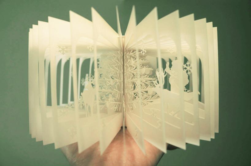 Geek Art Gallery Papercraft Christmas Book