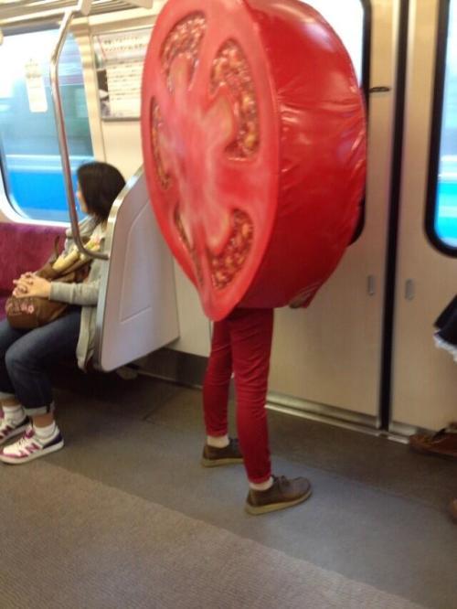 tomato cosplay
