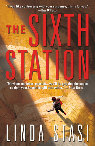 readbymoonlight:Title: The Sixth StationAuthor: Linda StasiPublisher: Forge*full disclosure: Free thanks to the publisher via NetGalley for my Honest Review.Description:(by goodreads.com)Some say Demiel ben Yusef is the world's most dangerous terrorist, personally responsible for bombings and riots that have claimed the lives of thousands. Others insist he is a man of peace, a miracle worker, and possibly even the Son of God. His trial in New York City for crimes against humanity attracts scores of protestors, as well as media and religious leaders from around the world.Cynicalreporter Alessandra Russo heads to the UN hoping for a piece of the action, but soon becomes entangled in controversy and suspicion when ben Yusef singles her out for attention among all other reporters. As Alessandra begins digging into ben Yusef's past, she is already in more danger than she knows—and when she is falsely accused of murder during her investigation, she is forced to flee New York.On the run from unknown enemies, Alessandra finds herself on the trail of a global conspiracy and a story that could shake the world to its foundations.Is Demiel ben Yusef the Second Coming or the Antichrist?The truth may lie in the secret history of the Holy Family, a group of Templars who defied the church, and a mysterious relic stained with the sacred blood of Christ HimselfMy Review: ** spoiler alert ** First of all I want to say, I might not be the best person to listen to. I only got through about 1/3 of the book before I gave up. So have that in mind when you read this.Unfortunately, this story seemed really farfetched, (and as you know I'm a sci-fi, fantasy reader.) I thought this book seemed interesting from its summary, so I wanted to give it a shot. I appreciated the first person narrative, and I think the plot had merit… but it fell short on the execution. Maybe there was something I missed, or I just don't get what the 5 star reviewers from goodreads, got from the story. I actually thoug