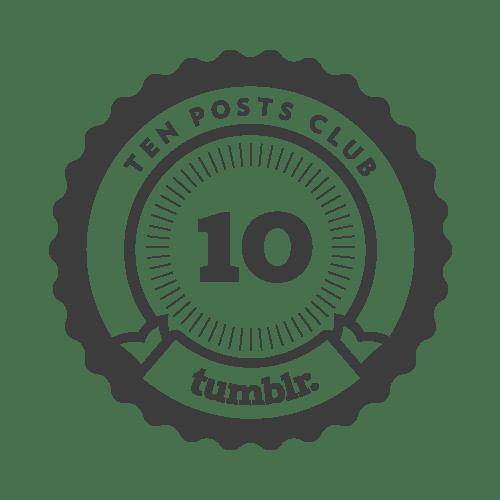 10 posts! Yay!