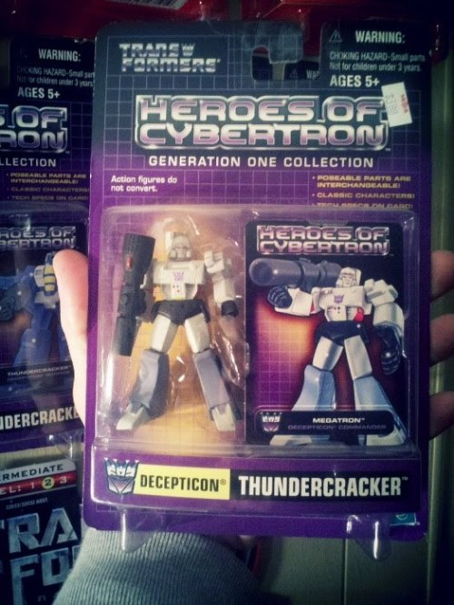 Heroes of Cybertron Megatron