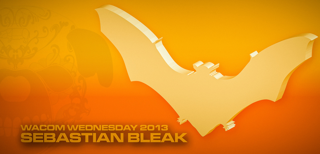 Bat Logo Adobe Illustrator Dynamic Sketch Tool