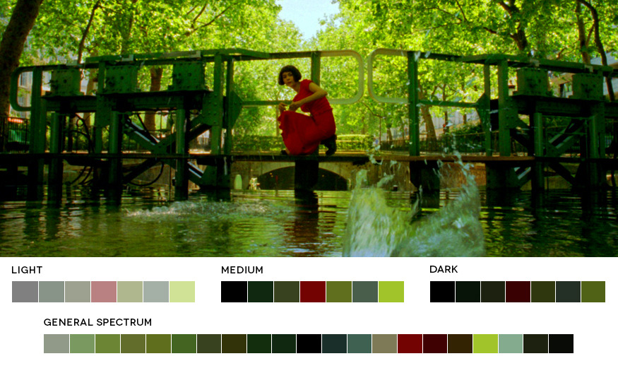 Jean-Pierre Jeunet WeekAmelie, 2001Cinematography: Bruno Delbonnel