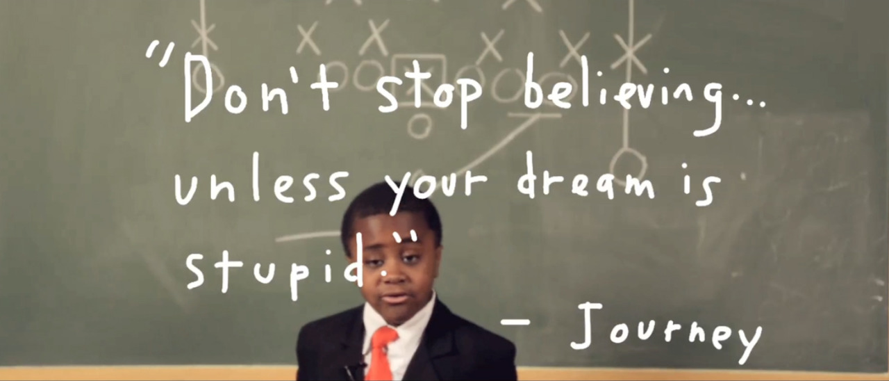 The world needed a pep talk so I made this. Watch! Share! Dance!