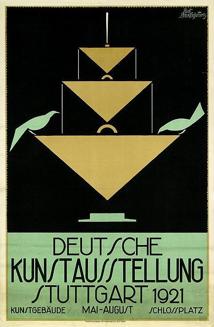 valscrapbook:  German Art Exhibition, Stuttgart (1921) by Susanlenox on Flickr.