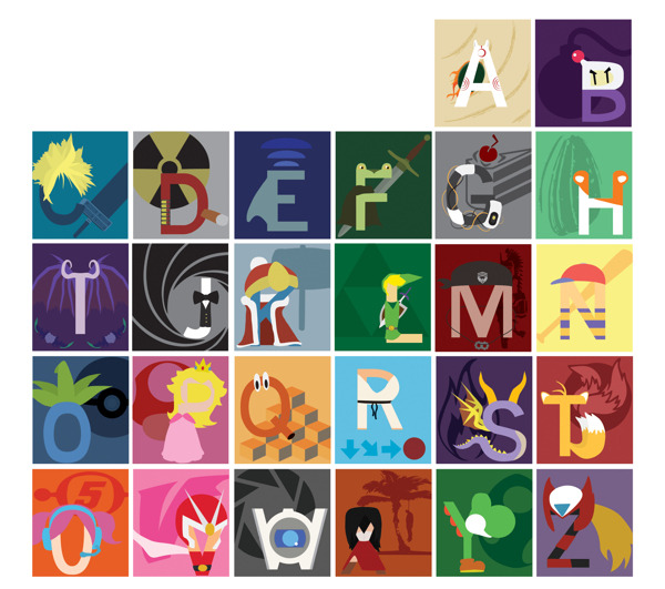 alfabeto gamer