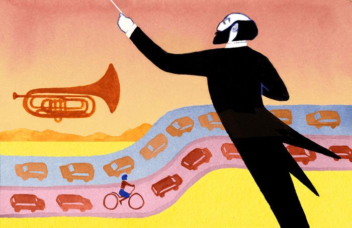 serena malyon illustration art calgary alberta swerve magazine calgary philharmonic orchestra rush hour spot illustraiton