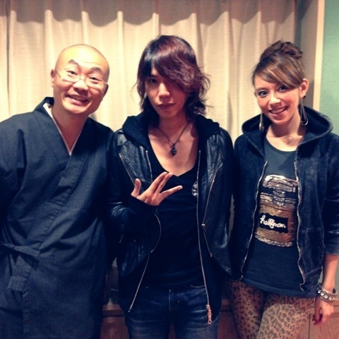 "Shinya en el programa radial""ON8"""