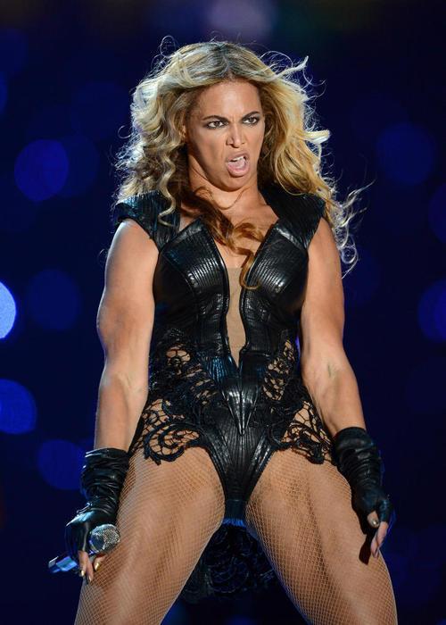 Muscular Beyonce