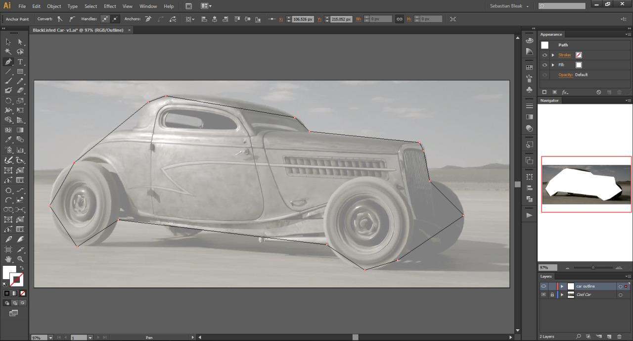 Adobe Illustrator CS6 Pentool