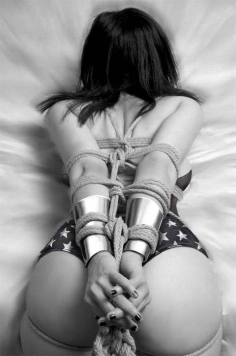 wonder woman bondage