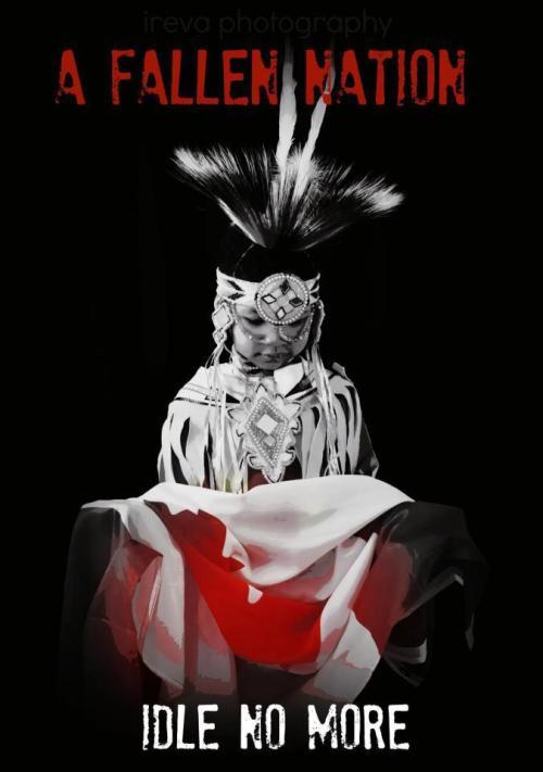 hanna21xoxo:</p><p>midnight-water:</p><p>#IdleNoMore</p><p>powerful picture<br />
