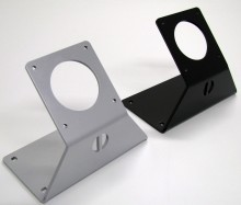 Our 45 Caliber Table / Wall Mount Stand can be used in many ways. It is made out of 3/16 heavy duty steel which makes it tough and sturdy unlike other thin flimsy mounts on the market.