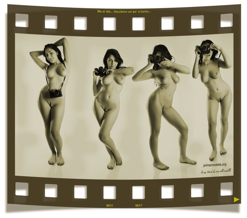 Film Strip Sepia by Zio Hack