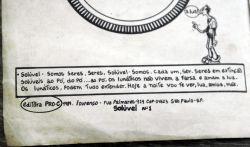 Um detalhe da publicação e do ano em que foi editado.