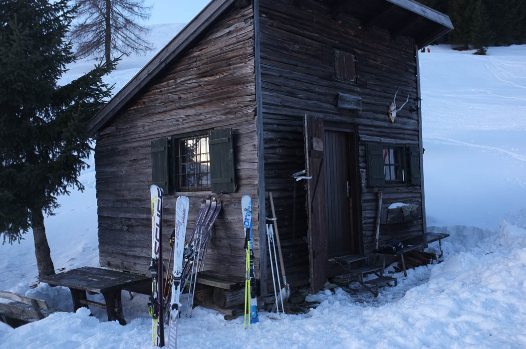 Small ski cabin in Austria.Photograph by Jake Pritchard.View more here.