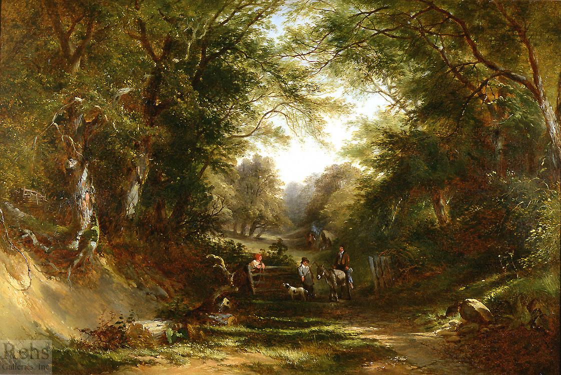 A Shady Lane - Edward Charles Williams