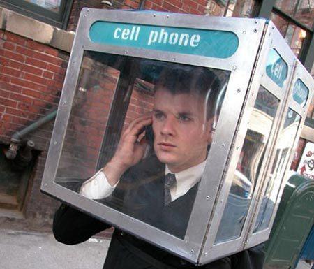 MY mobile phone booth. (via kirp)
