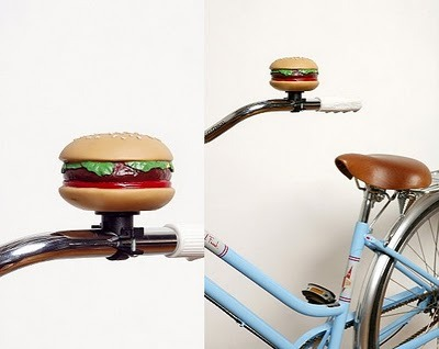 Bike Bell That Looks Like A Hamburger