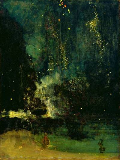 Nocturne in Black and Gold, the Falling Rocket by James A.M. Whistler