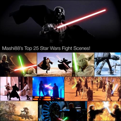 Mashi88 | Top 25 STAR WARS Fight Scenes