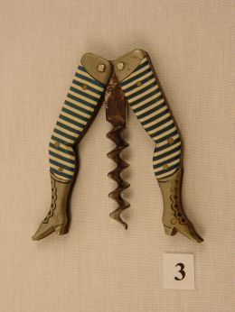 "Corkscrew That Looks Like ""Ladies Legs""<br /><br /><br /><br /><br /><br /> (Thanks: Susannah B.!)"