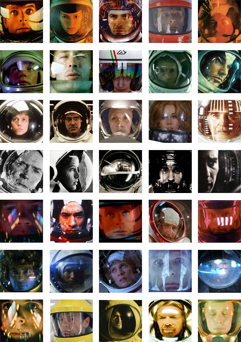 Modcult a cool tribute to all those space movies… can you name them all? (via elgordoastros)