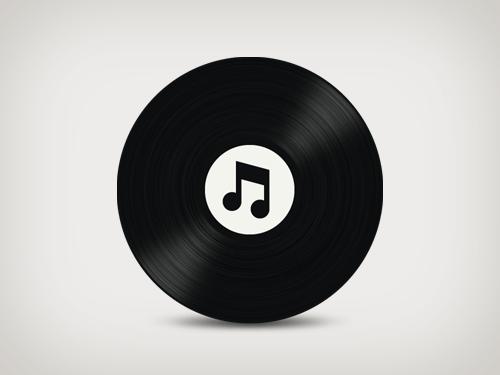vinyl itunes icon