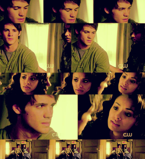 """Bonnie: She's going to be fine.Jeremy: You don't know that…Bonnie: …No… no I don't.  Vampire Diaries, 2.08 """"Rose"""""""