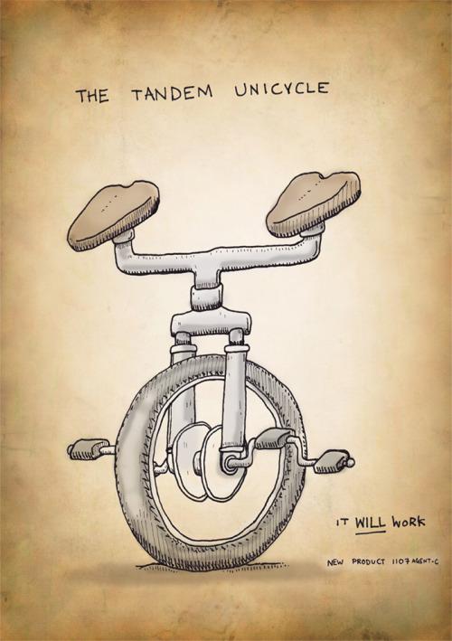 tandem monociclo