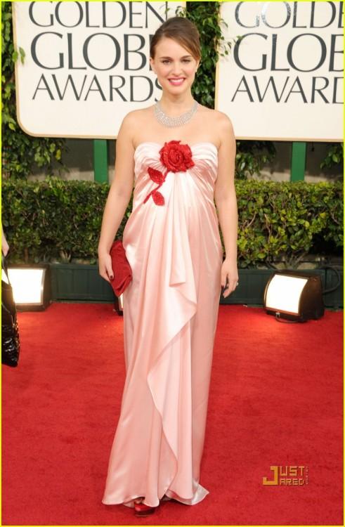 Natalie Portman is pretty, pregnant, and guaranteed to win a billion awards.