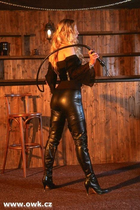 dominatrix bullwhipping videos