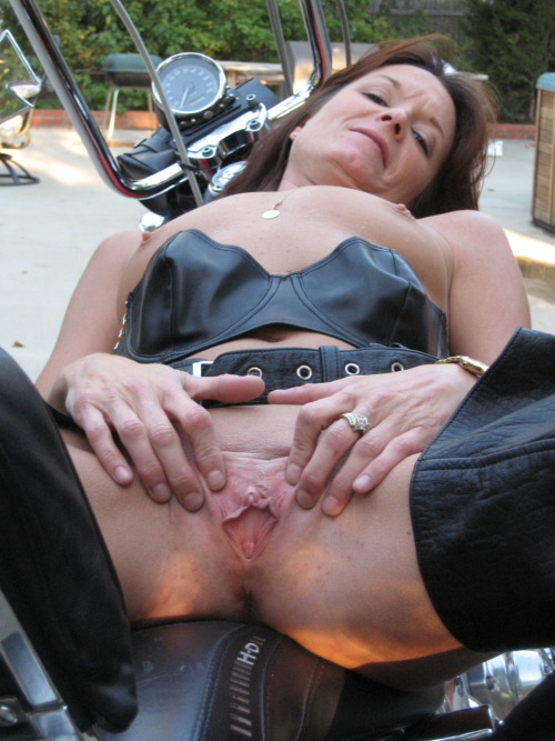Very valuable wife biker rally slut are some