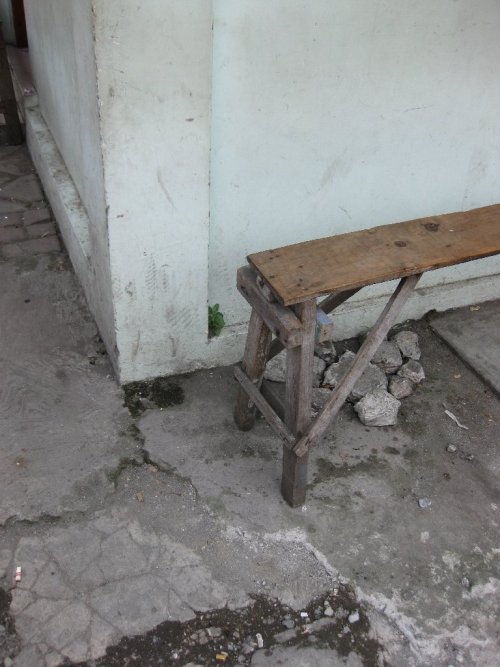 Indonesian street furniture