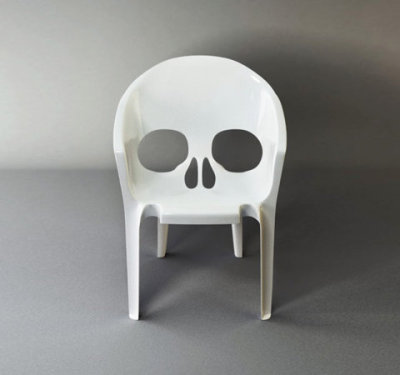 Chair That Looks Like A Skull