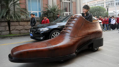 Car That Looks Like A Giant Shoe