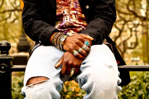 STREET ETIQUETTE UPDATE - Spring Etiquette: The Tench Coat Picture of K John La Soul