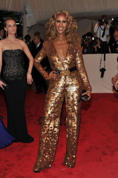bohemea:  Iman - MET Costume Gala, May 2nd 2011 Iman is incomparable!