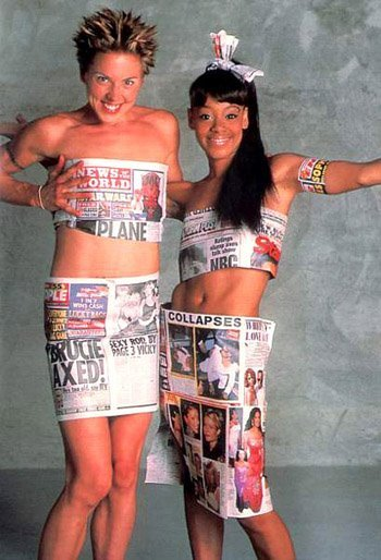Melanie C and Lisa Left Eye Lopes