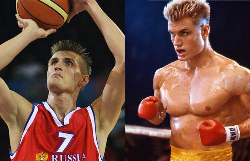 Andrei Kirilenko | Dolph Lundgren