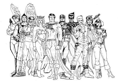 Work-in-progress... Pinoy Justice League (1/2)