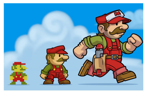 Mario Redesign // by MaroBot