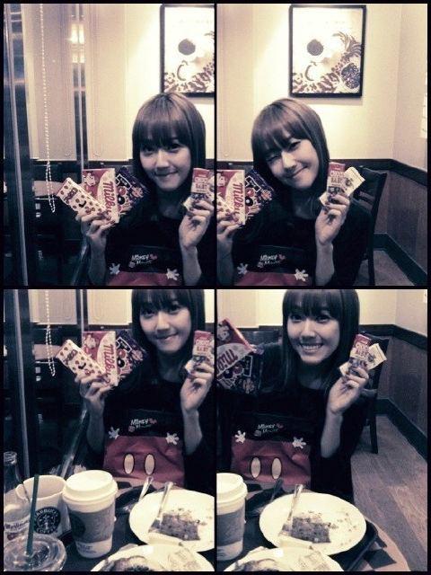 mrtaxirunningtrack:  Jessica new selca!  I think Seohyun wasn't there bcs.. Yea u knew it xD