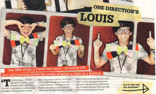 Scan from Celebs on Sunday (magazine with the Sun)