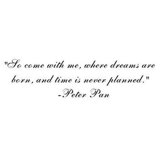 Movie Tinkerbell Quotes Peter Pan